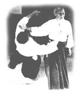O Sensei bei der Ausführung von Kokyu-Nage