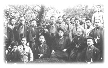 Morihei und Onisaburo