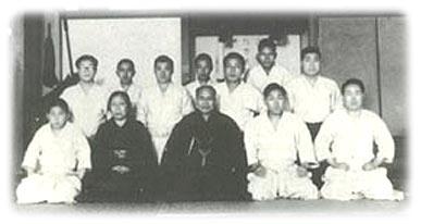 Morihei im Kobukan